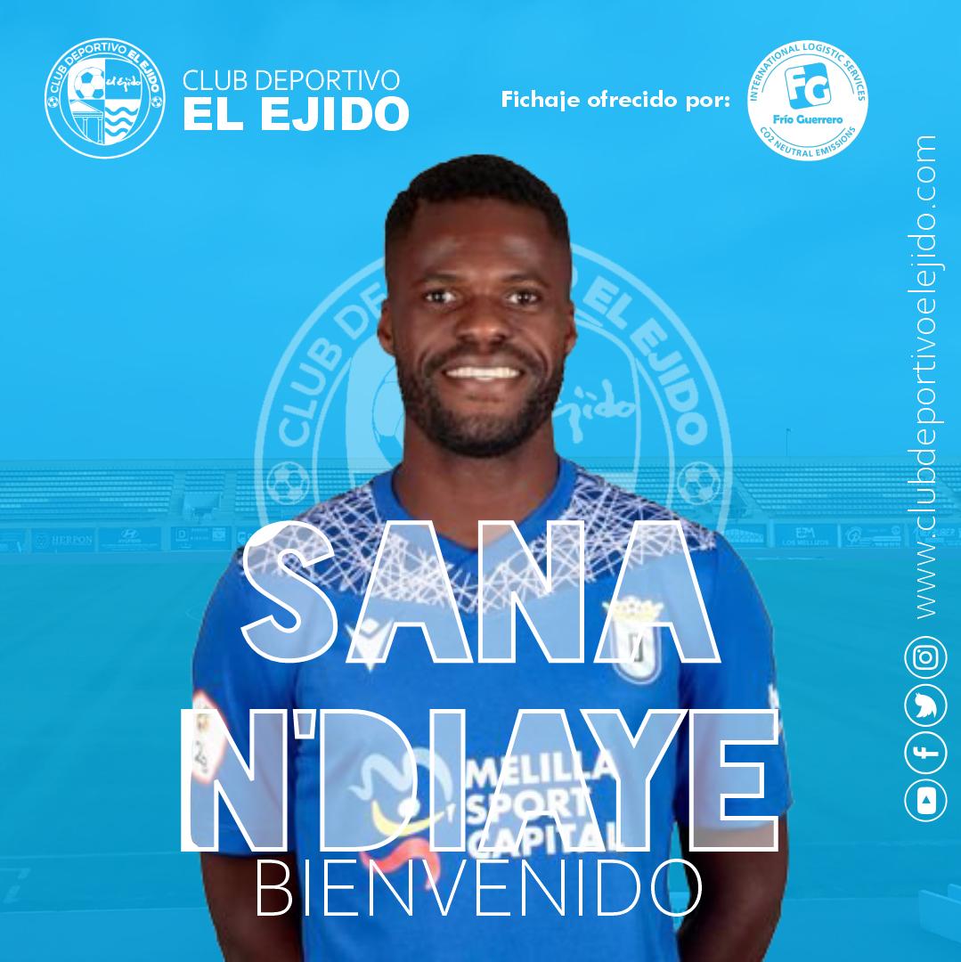 El CD El Ejido firma al mediocentro Sana N'Diaye