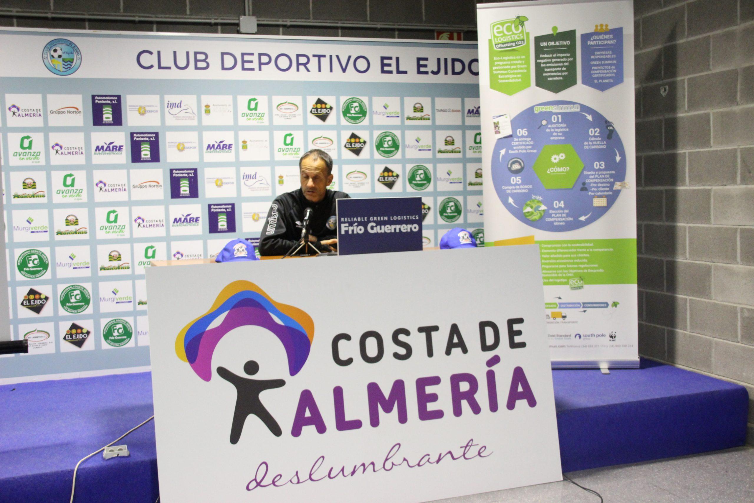 El CD El Ejido, a fortalecer su buena dinámica frente al Sevilla Atlético