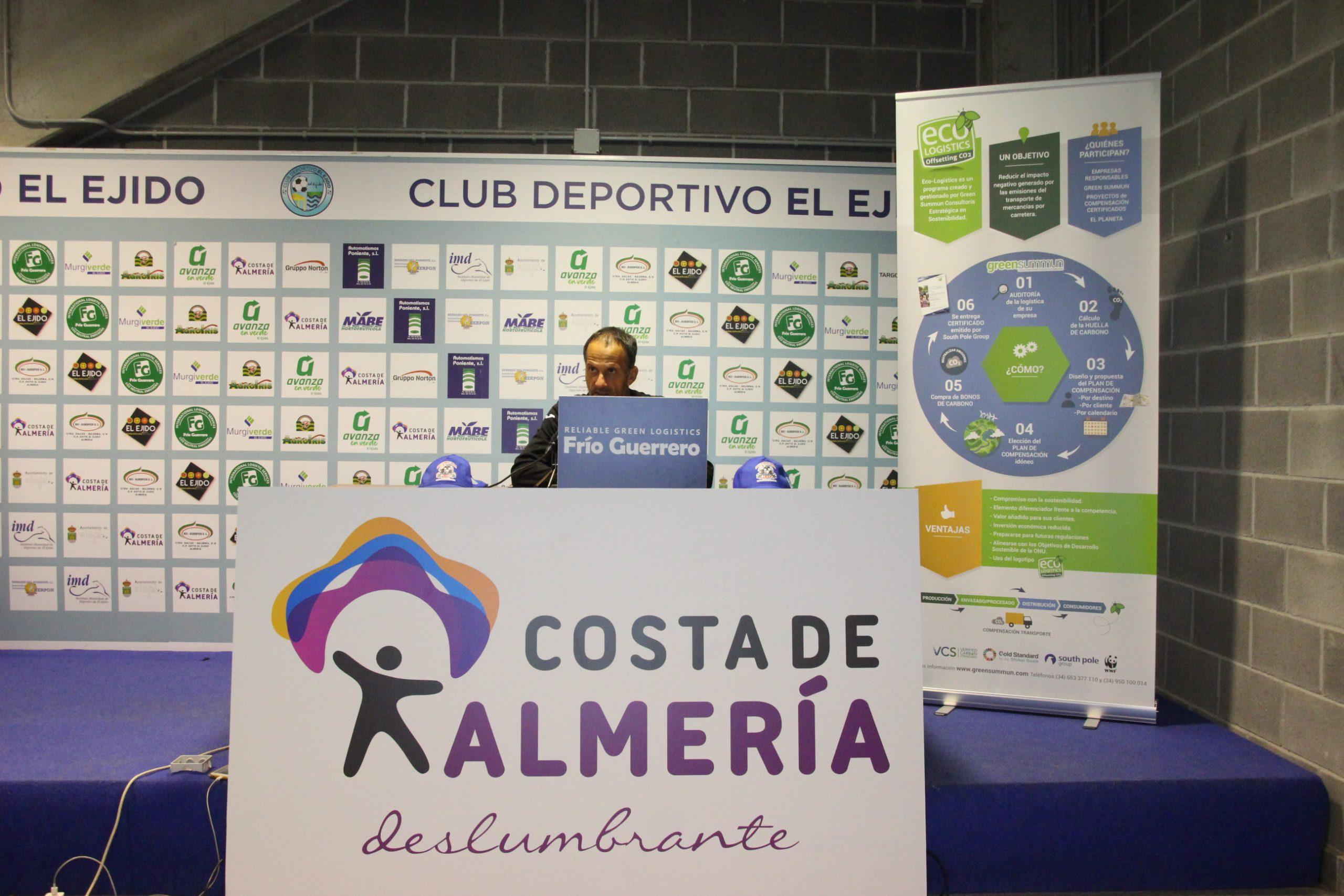 El CD El Ejido reaparece en Linares afrontando un encuentro clave