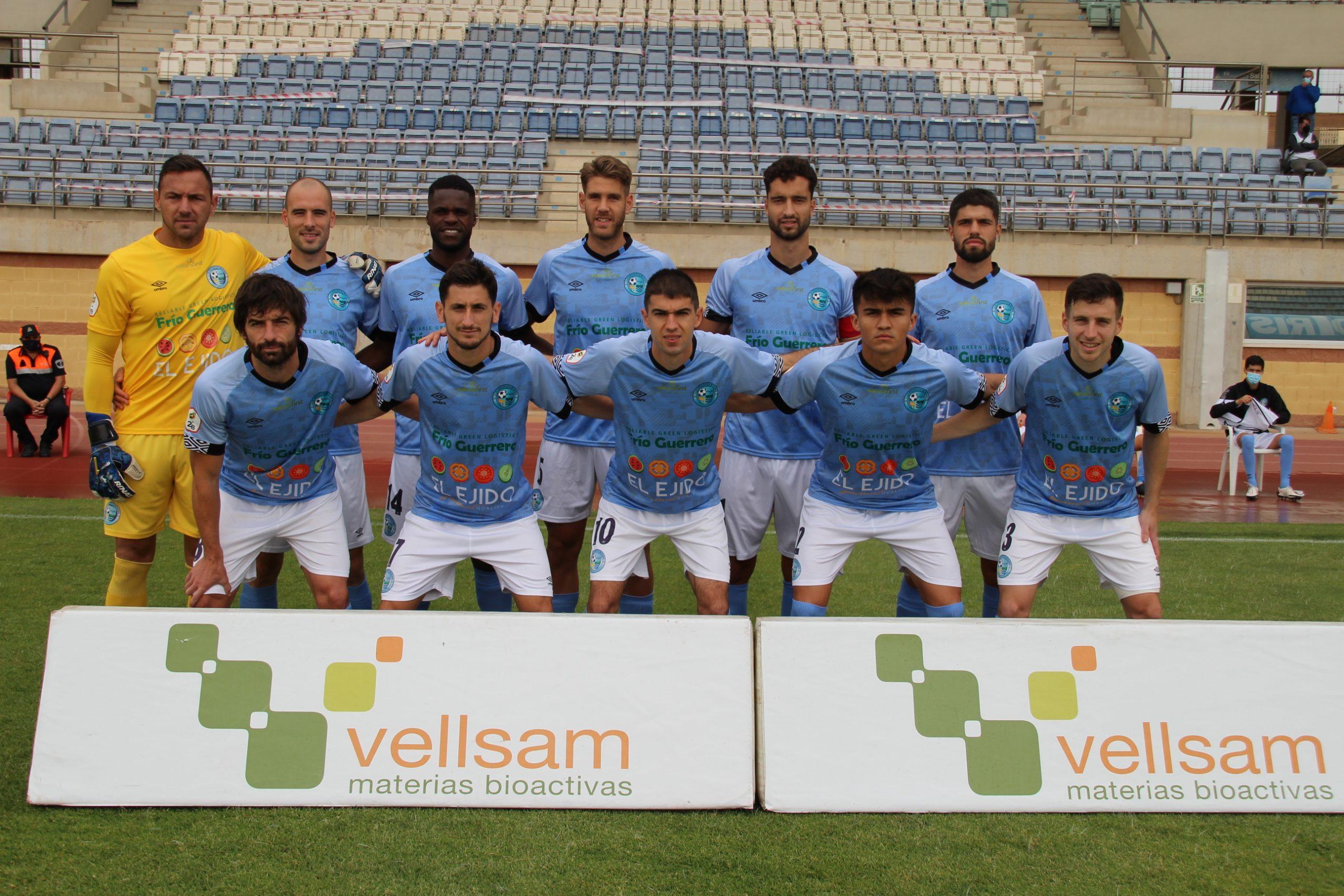 El CD El Ejido sigue en racha con un letal Etxaniz que anotó tres goles