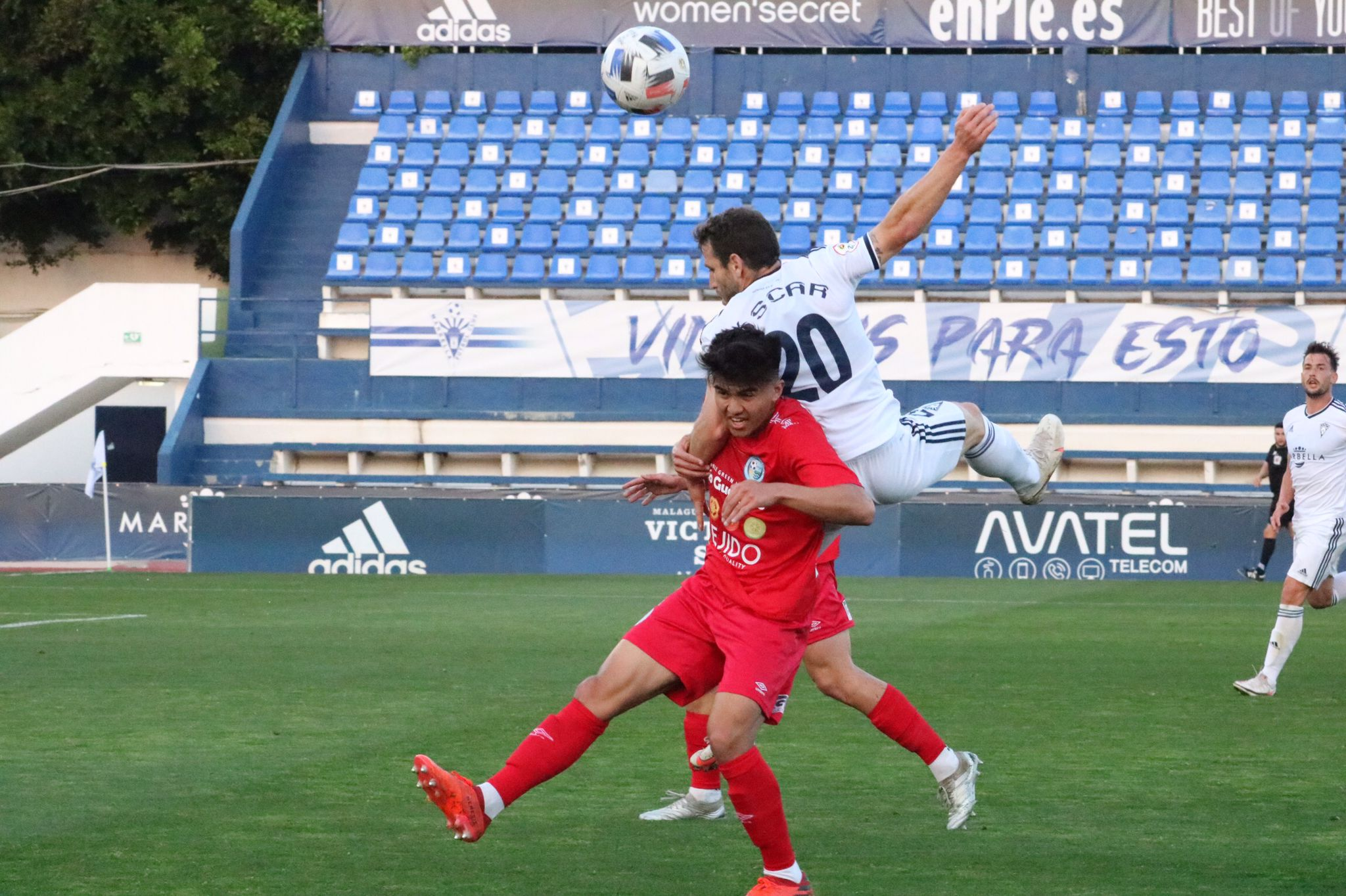 Un gol en fuera de juego le cuesta los puntos al CD El Ejido en Marbella