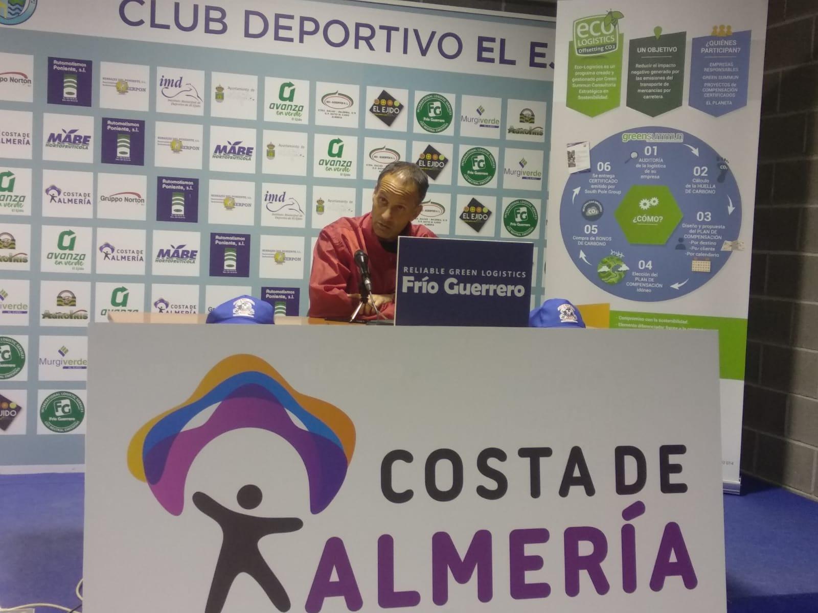 El CD El Ejido a por su cuarta victoria consecutiva frente al Marbella FC