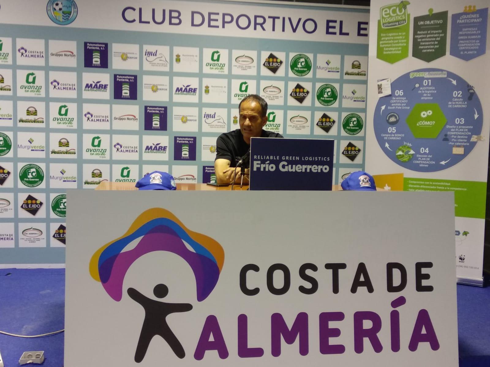 El CD El Ejido competirá en Huelva por su quinto triunfo consecutivo