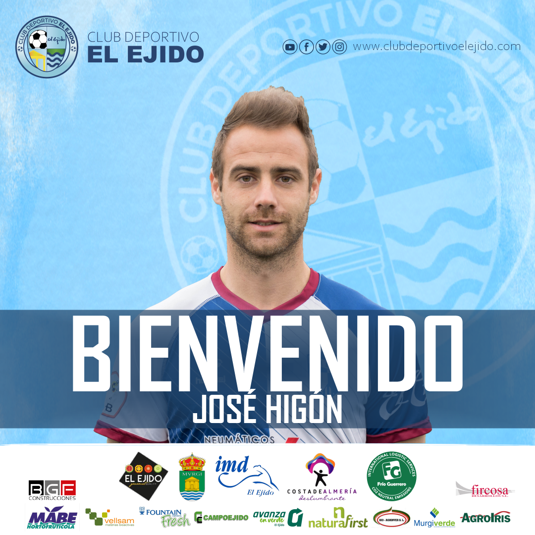 El extremo José Higón, nuevo jugador del CD El Ejido