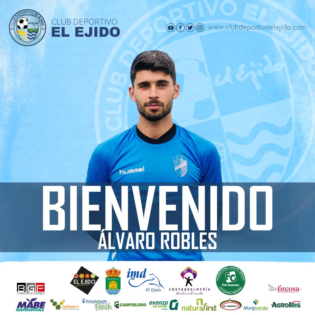 El CD El Ejido firma al arquero Álvaro Robles
