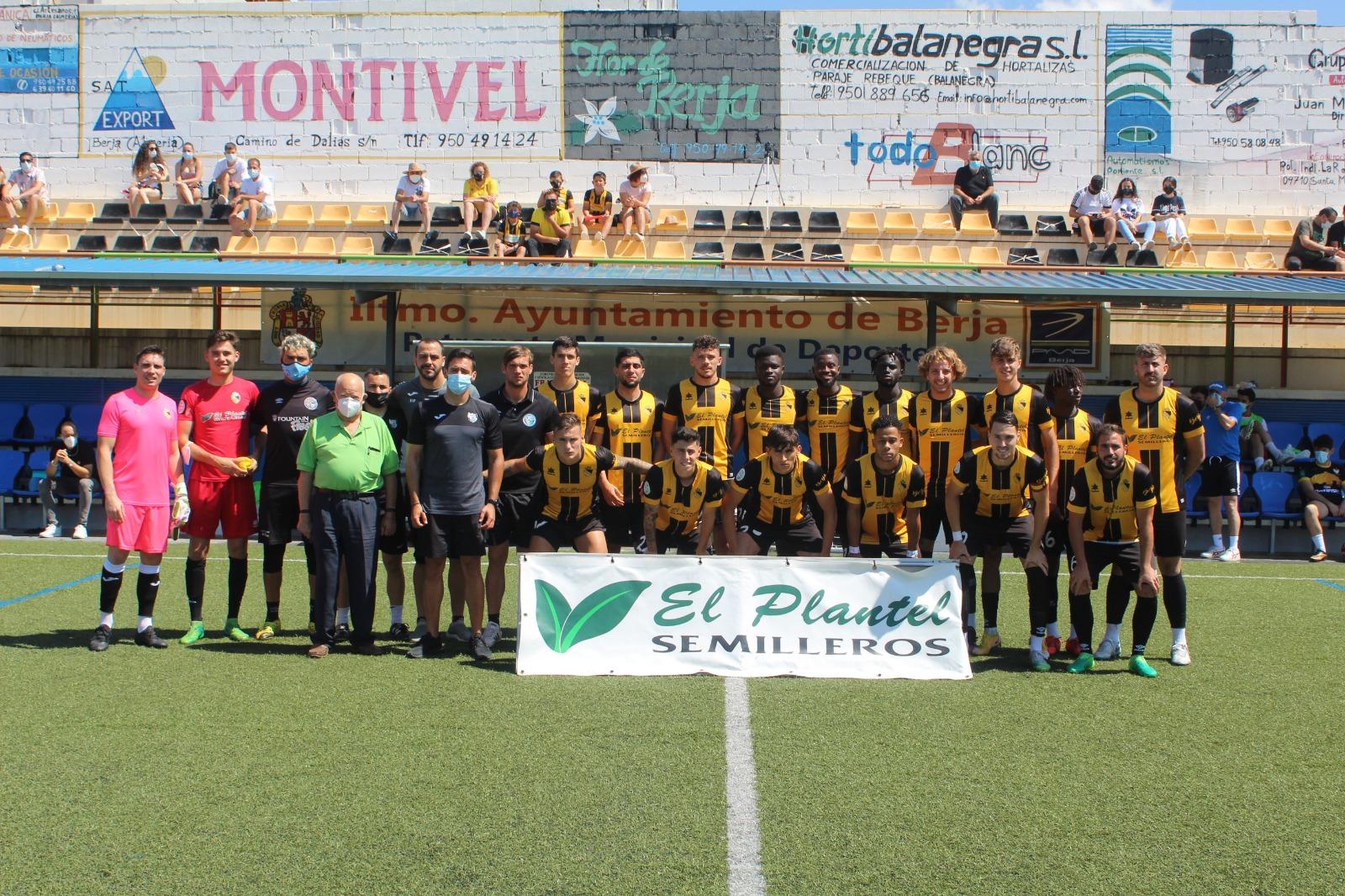 El Berja CF vence al Martos y espera confirmación de su Permanencia en División de Honor Andaluza