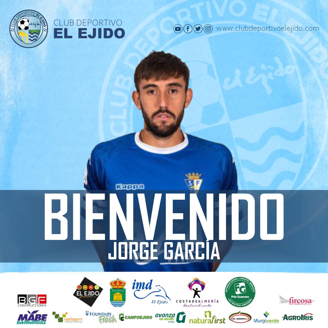 El centrocampista Jorge García, nuevo jugador celeste