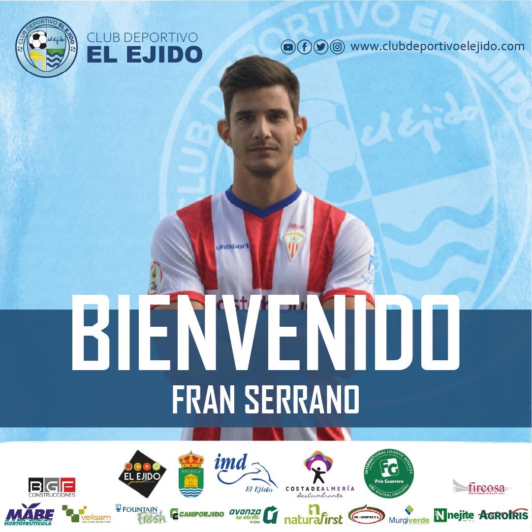 El CD El Ejido incorpora al central Fran Serrano