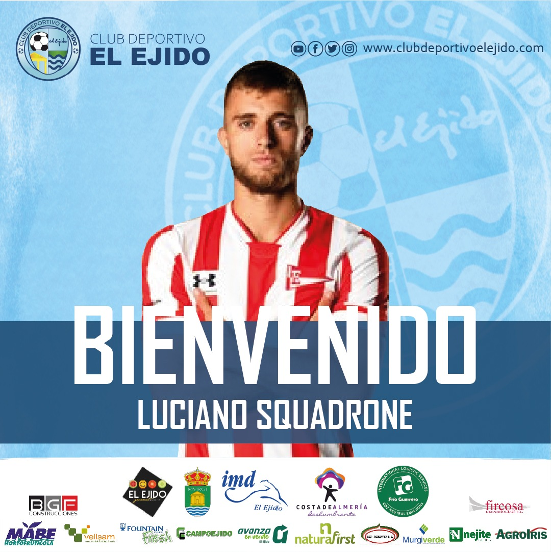 Luciano Squadrone aterriza en el CD El Ejido