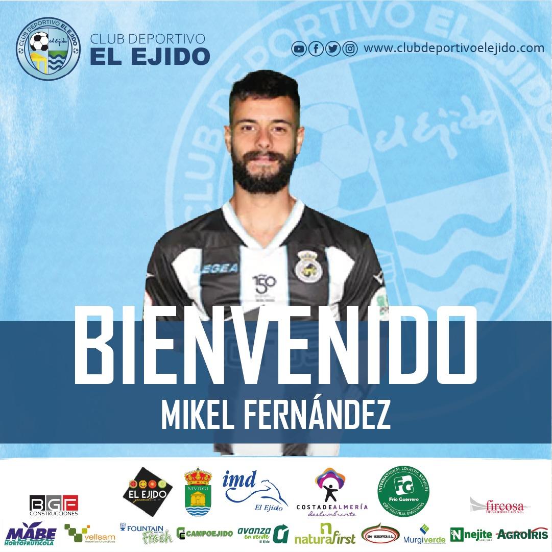 El CD El Ejido refuerza su defensa con la incorporación de Mikel Fernández