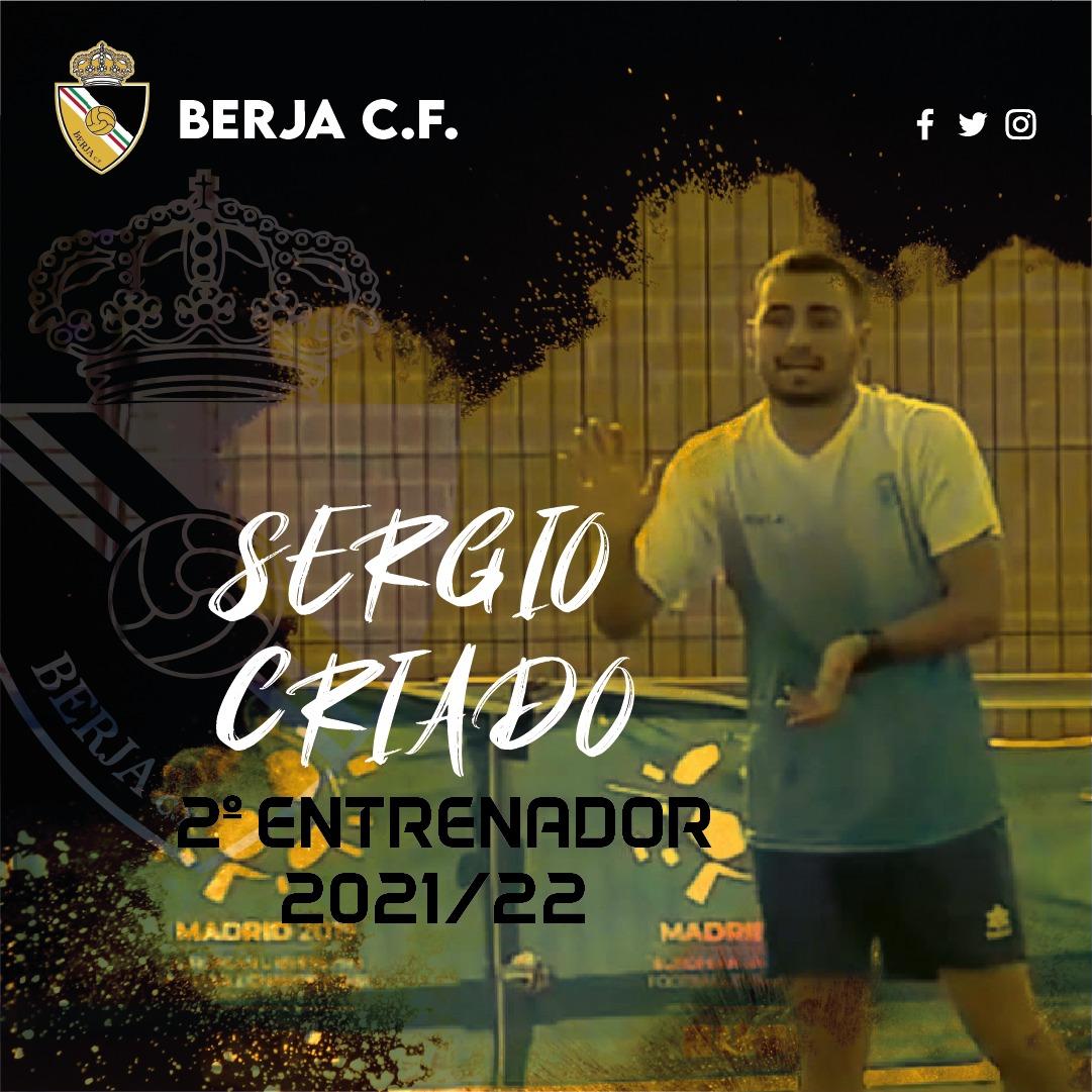 Sergio Criado, nuevo segundo entrenador del Berja CF