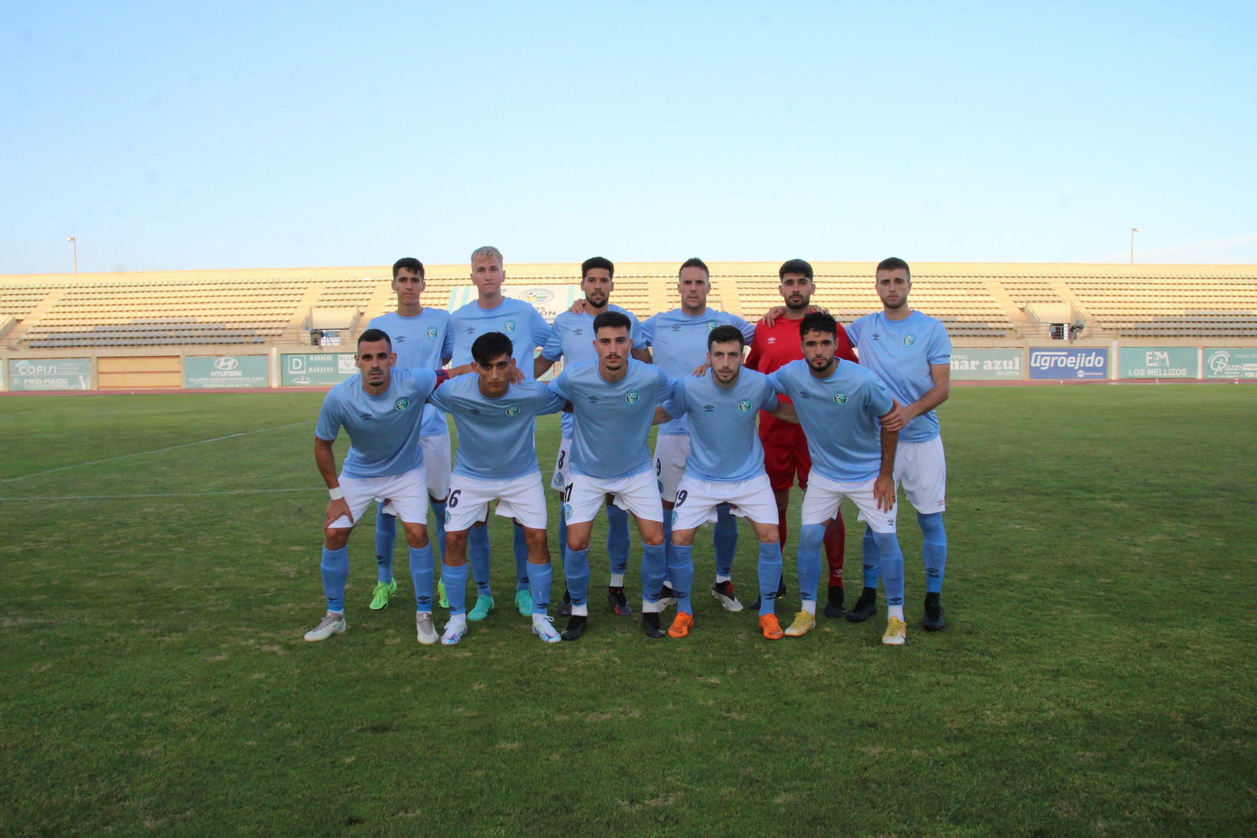 El CD El Ejido 2021-22 convenció ante su público ganando al Vélez