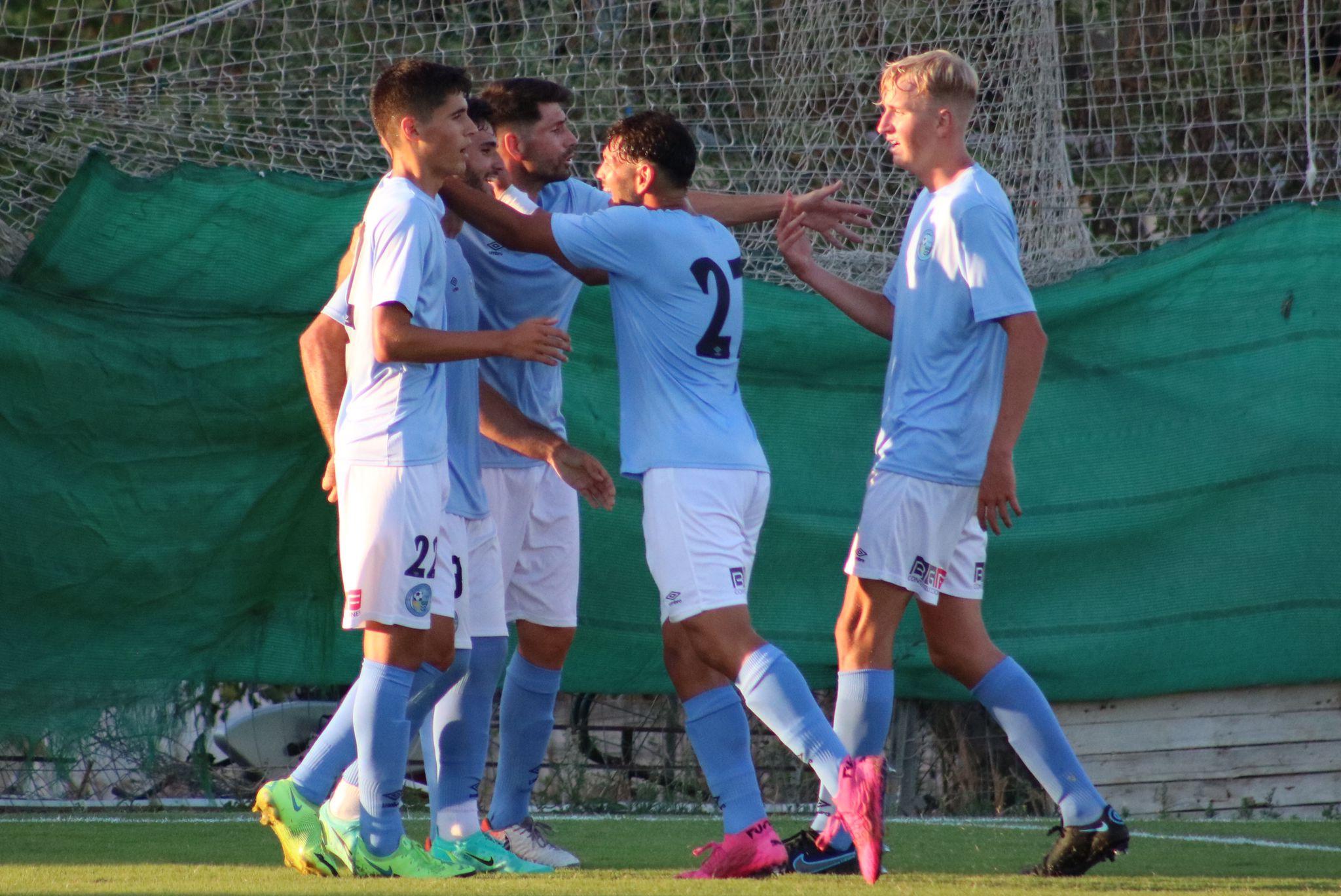 El CD El Ejido y el Atlético Malagueño empatan en un amistoso competido