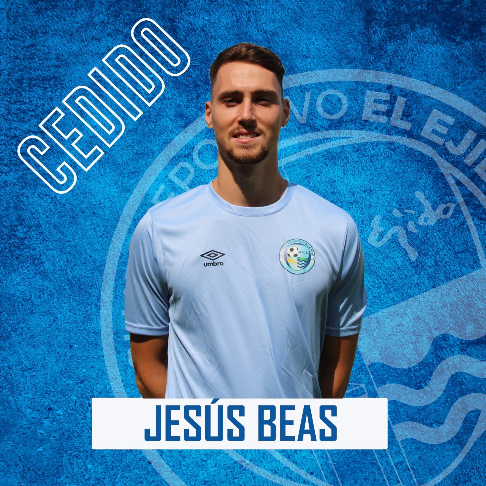 Jesús Beas se marcha cedido a la UD San Pedro