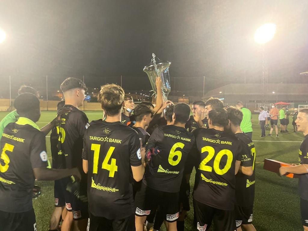 El Juvenil del CD El Ejido, campeón del Torneo de Huércal