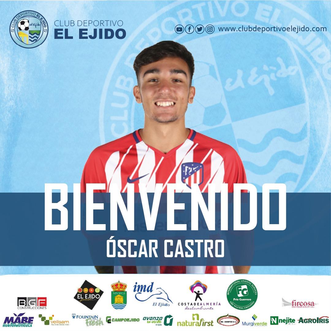 El mediocentro Óscar Castro cierra la plantilla celeste