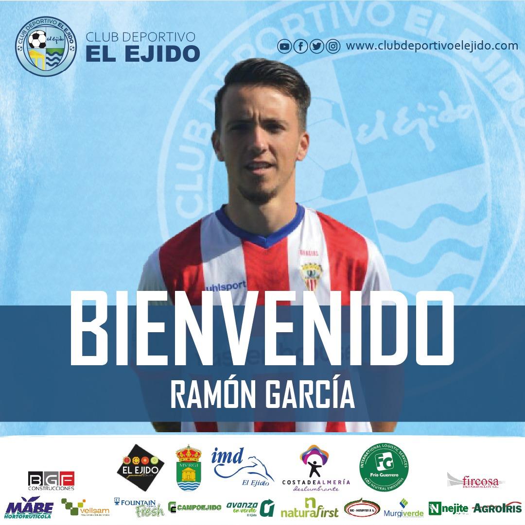 El almeriense Ramón García se incorpora al CD El Ejido