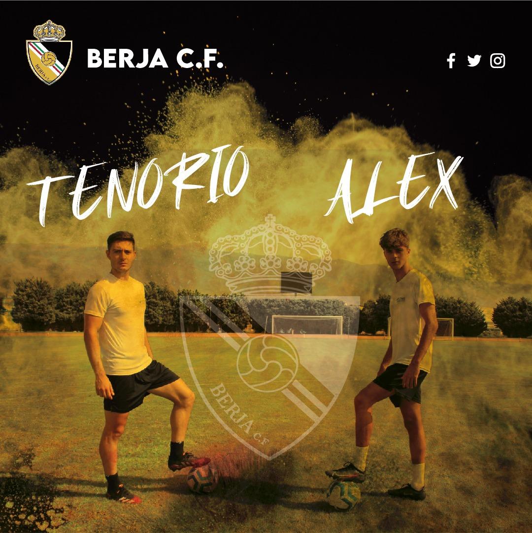 Tenorio y Álex, el complemento perfecto para la banda izquierda del Berja CF