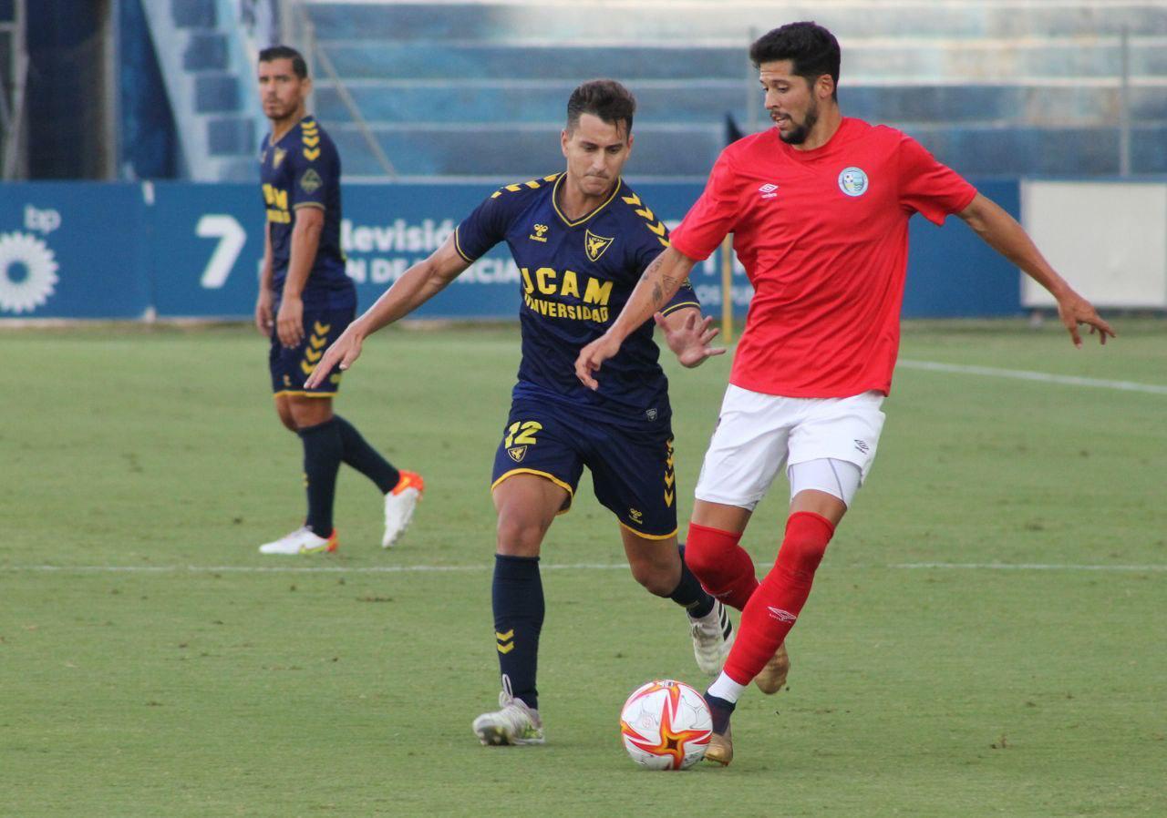 El CD El Ejido le compite al UCAM Murcia aunque perdió por la mínima