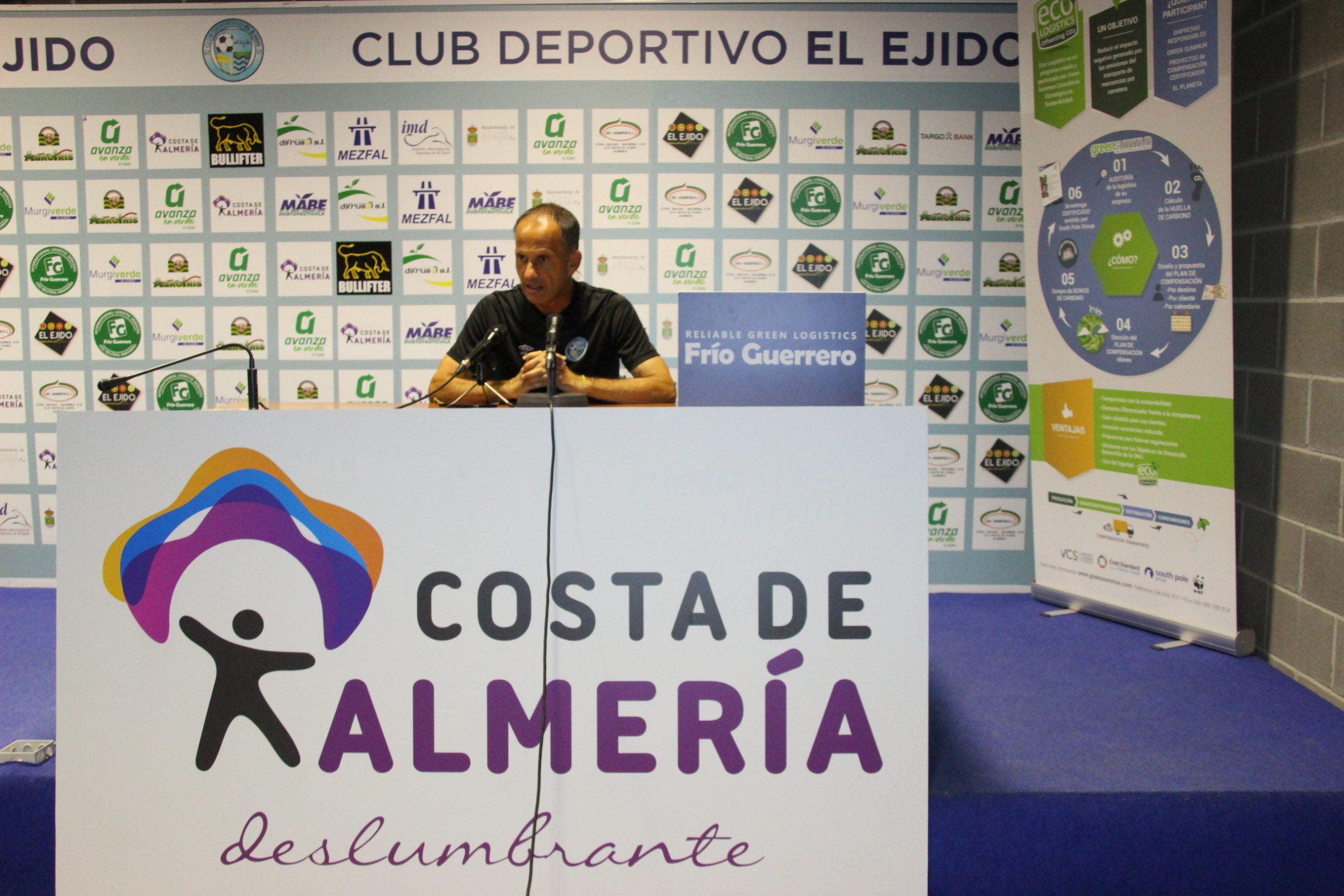 El Club Deportivo El Ejido de Fran Alcoy 2021-22 inicia su proyecto ambicioso