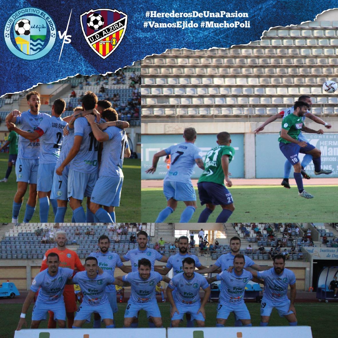 Final de partido agridulce para un CD El Ejido que mereció la victoria