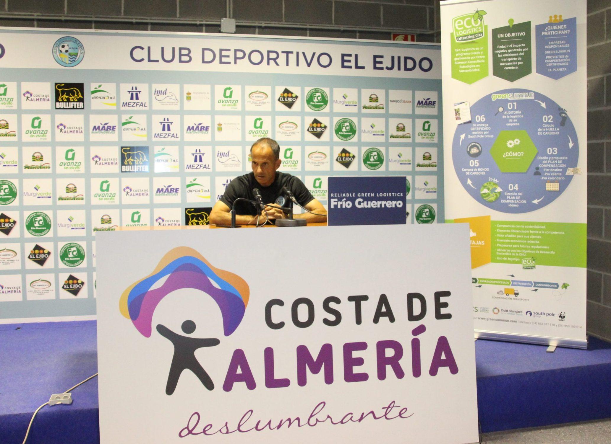 El Club Deportivo El Ejido a por el primer derbi almeriense de la Segunda RFEF