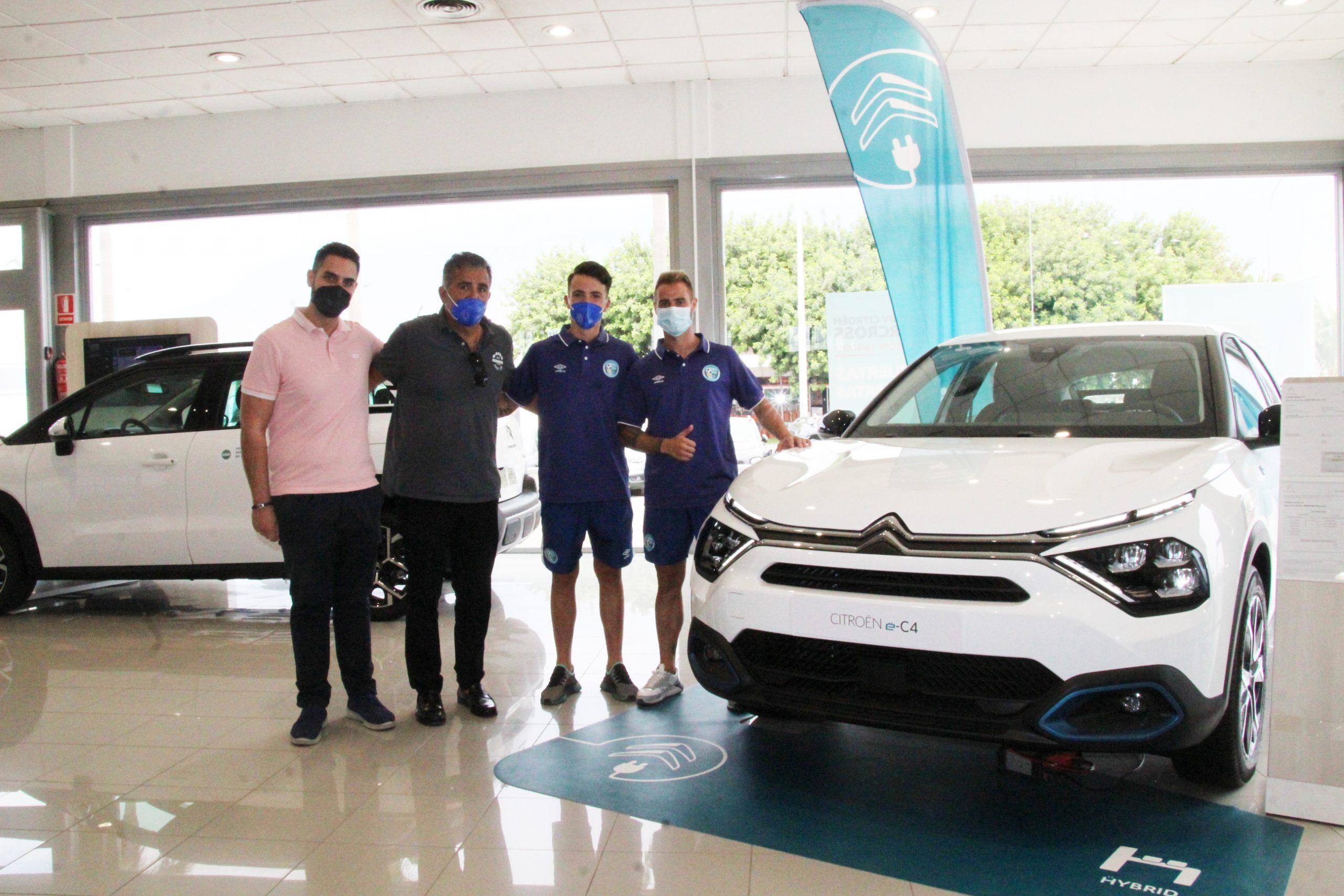 José Higón y Ramón García se presentan en las instalaciones de Citroën Ejido Motor