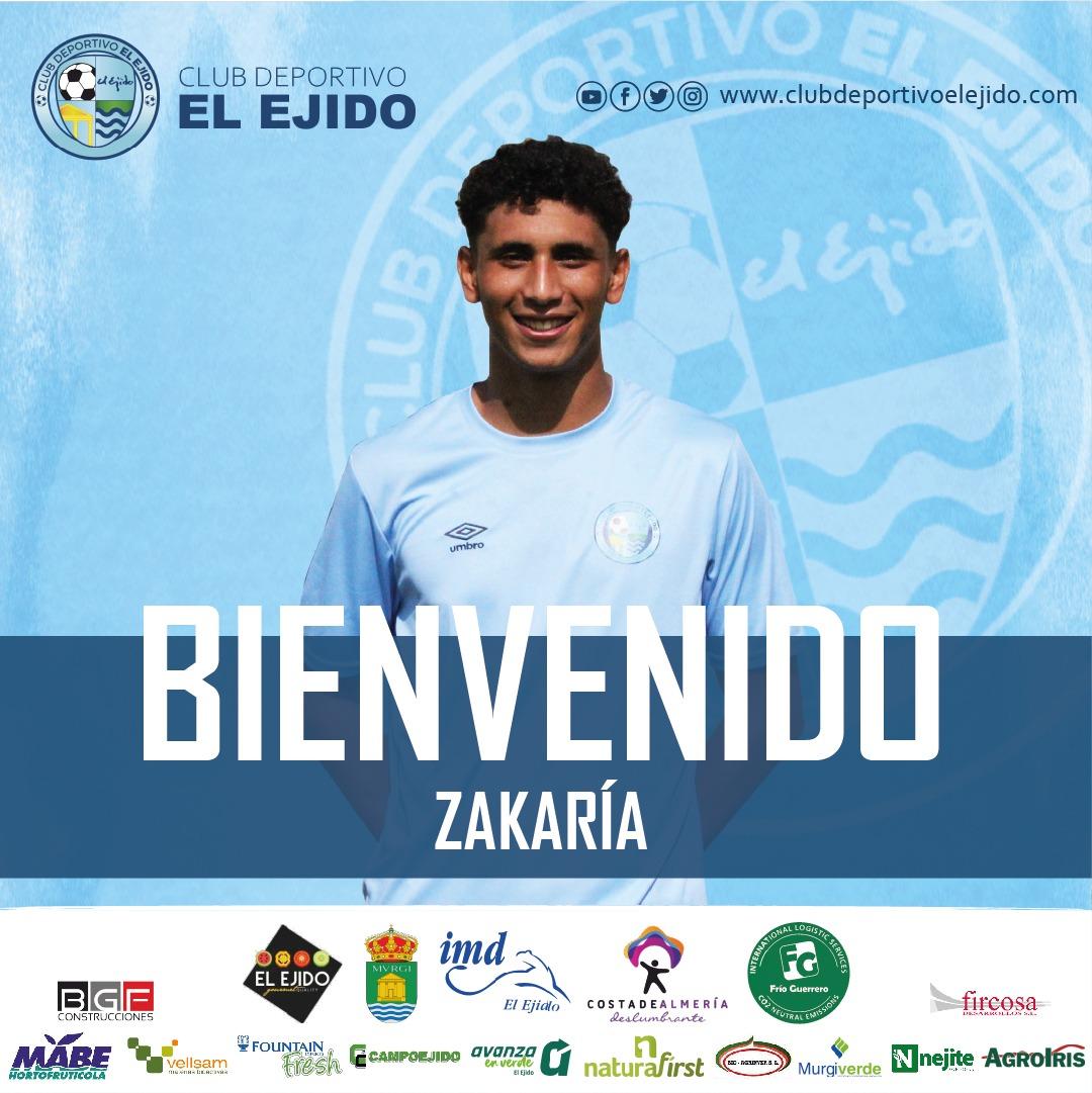 El jugador Zakaría firma su primer contrato profesional