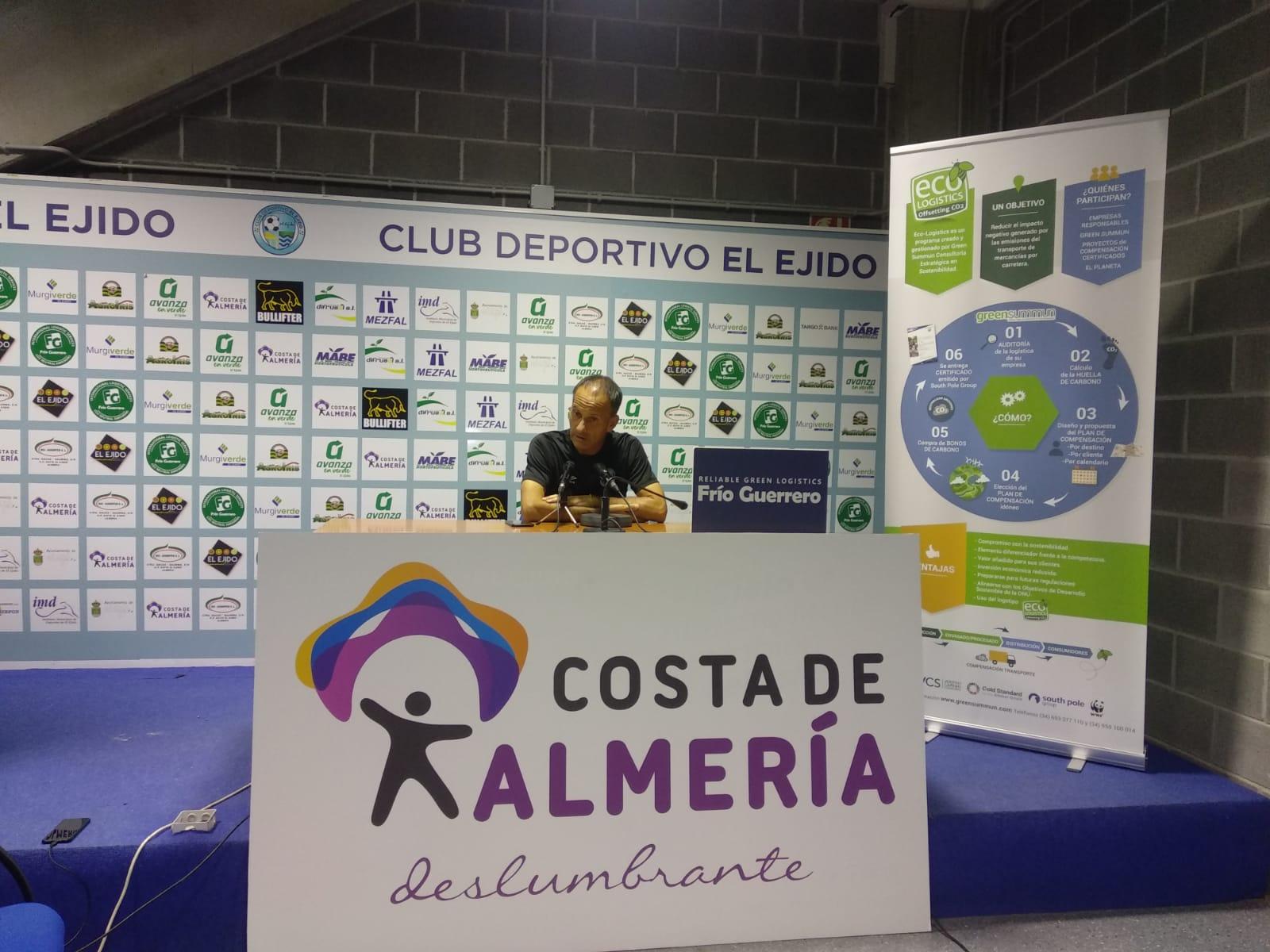 El Club Deportivo El Ejido a demostrar ante el líder que sólo le vale ganar