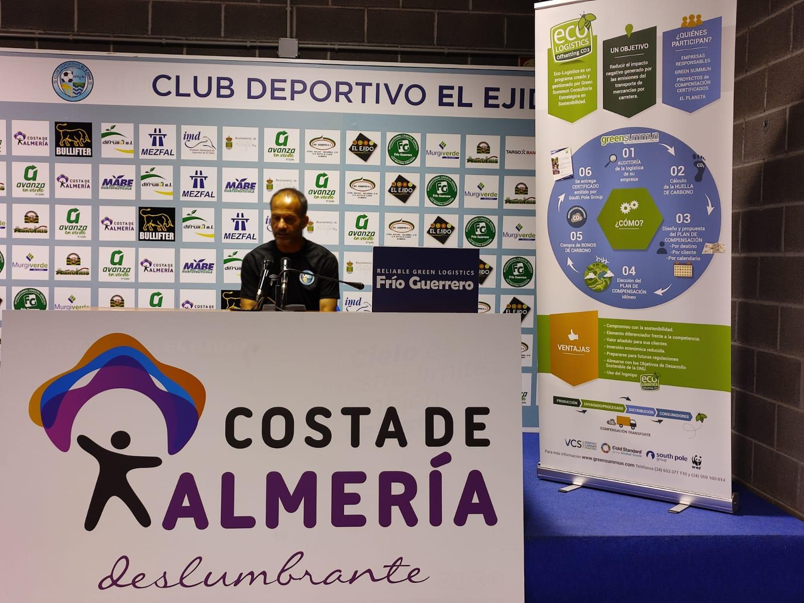 El Club Deportivo El Ejido a recuperar la senda del triunfo en Elda