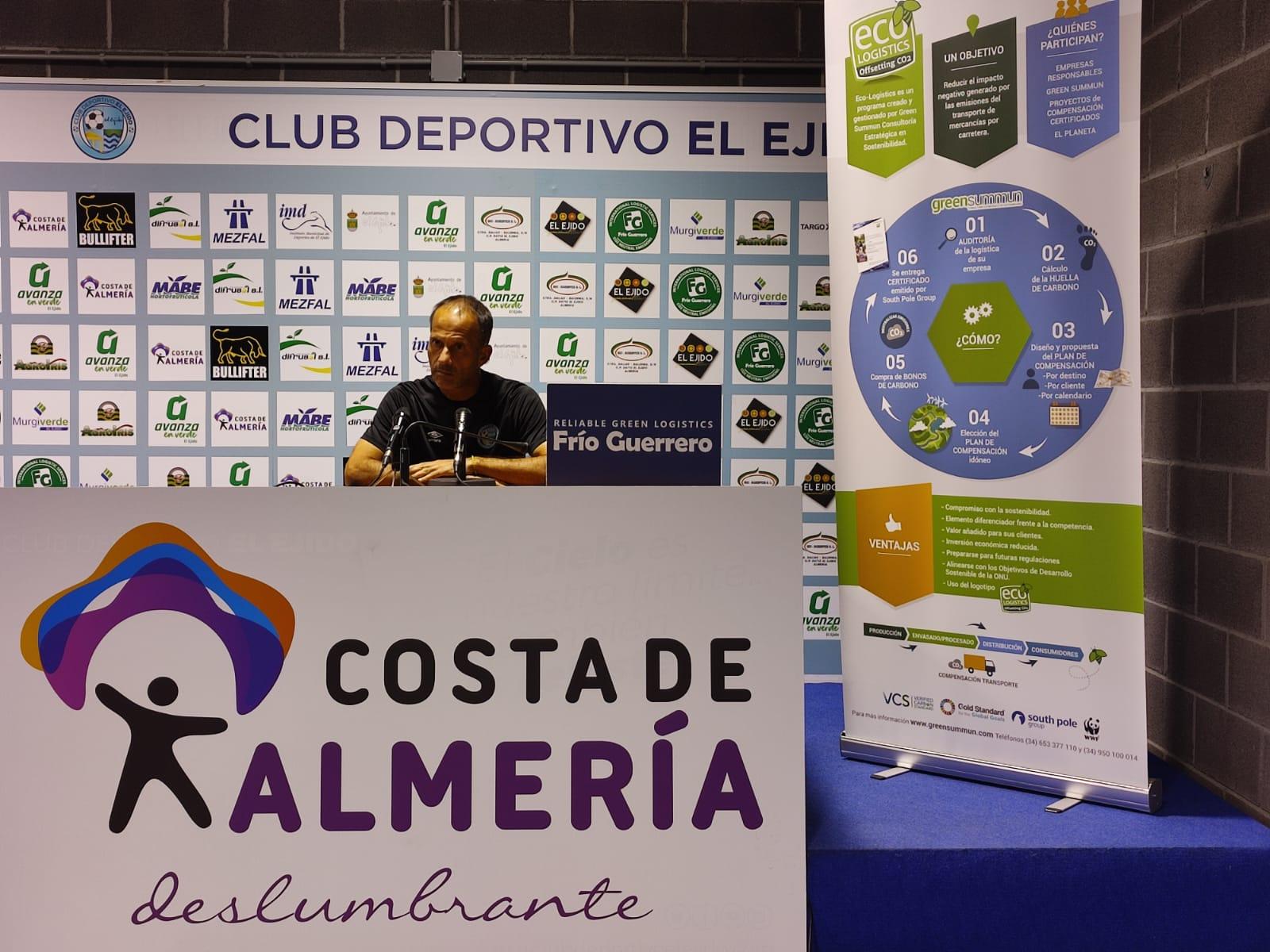 El Club Deportivo El Ejido buscará la victoria que quiere dedicar a su afición